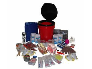 Guardian Survival 4 Person Deluxe Office Survival Bucket Kit