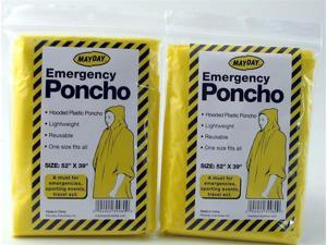 Mayday Poncho Case in Yellow
