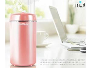 Comefresh 0.2L Mini USB Cool Mist Ultrasonic Humidifier (Pink)