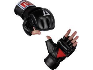 Title Classic Wrist Wrap Heavy Bag Gloves-Large