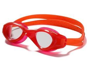 FINIS Nitro Swim Goggles - Red/Clear