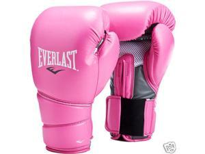 Everlast Protex2 Vinyl Boxing Gloves-Pink 14 oz-L/XL