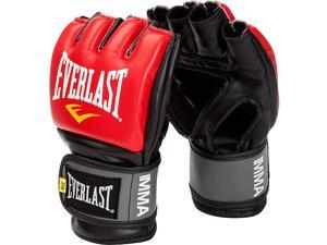Everlast Pro Style Grappling Gloves-Red-L/XL