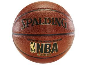 "Spalding NBA Zi/O EXCEL Indoor/Outdoor Composite Basketball - Size 7 (29.5"")"