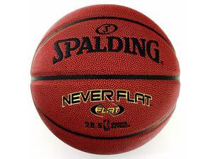 "Spalding NBA NeverFlat Composite Basketball - Size 7 (29.5"")"