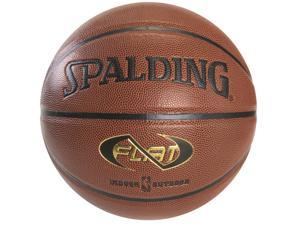 """Spalding NeverFlat Traditional Composite Basketball - Size 7 (29.5"""")"""