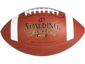 Spalding NeverFlat Composite Football - Junior Size