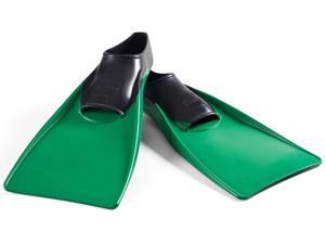 FINIS Long Floating Fins - 3XL (13.5-15) - Black/Dark Green