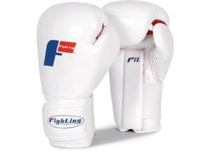 Fighting Sports Fit Boxing Gloves - Regular - White