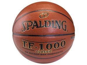 "Spalding Deflated TF-1000 Classic Basketball - Size 7 (29.5"")"