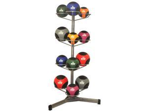 VTX by Troy Barbell Medicine Ball Rack Set