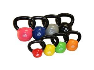 VTX by Troy Barbell Vinyl Kettlebell Set