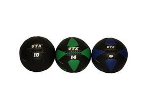 VTX by Troy Barbell Wall Ball 10, 14, and 20 lb. CrossFit Set