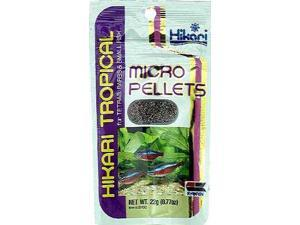 Hikari - Hikari Tropical - Micro Pellets For Small-Mouthed Fish - 1.58 Oz
