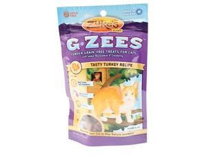 G-zees Grain-free Treats For Cats for Cat,  Color: Tasty Turkey , Size: 3 OUNCE
