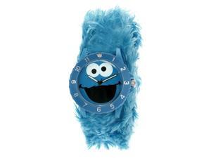 SESAME STREET WATCHES COOKIE MONSTER FURRY WATCH