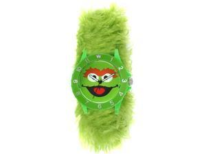 SESAME STREET WATCHES OSCAR THE GROUCH FURRY WATCH