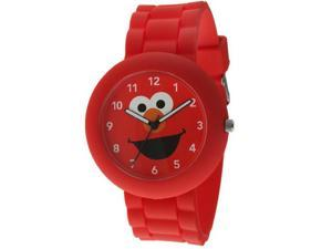 Sesame Street SW612EL Elmo Red Rubber Watch