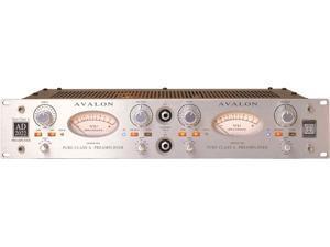 Avalon AD2022 Class A Dual Mono Microphone Preamplifier