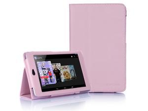 Supcase Slim Fit Folio Leather Case for Google Nexus 7 Tablet with Smart Cover Function - Multiple Color Options