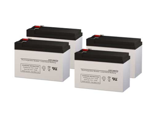 Compaq R1500 UPS Replacement Batteries - Pack of 4