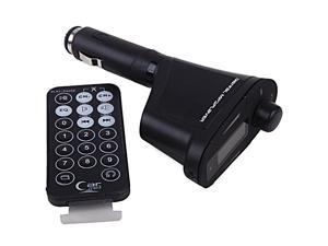 Car MP3 Player Wireless FM Transmitter with Remote for SD Card, USB Stick, iPod, etc.