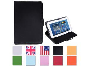 "HDE Universal Leather Folding Folio Case for 7"" Tablets"