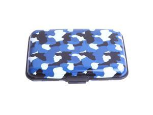 Funky Designs Aluminum Credit Card Case with RFID Blocking (Naval Camo)