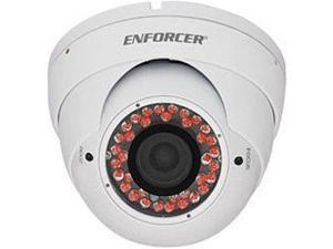 Seco-Larm Enforcer Ball Camera, 420TV, 3.66mm, 24 LEDs, White