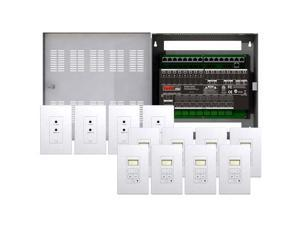 Leviton Hi-Fi 2 8 Zones, 8 Source Kit in Enclosure (95A00-1)