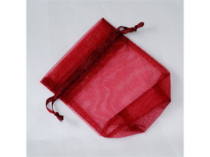 120 pcs Organza Favor Bag or Pouch 3 x 4 inches - Color: Burgandy