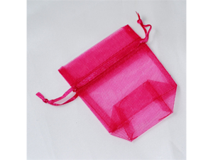 120 pcs Organza Favor Bag or Pouch 3 x 4 inches - Color: Fuchsia