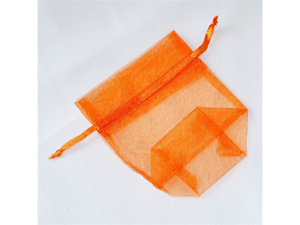 120 pcs Organza Favor Bag or Pouch 3 x 4 inches - Color: Orange
