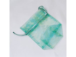 120 pcs Organza Favor Bag or Pouch 3 x 4 inches - Color: Aqua