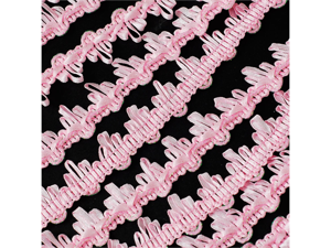 "Beautiful Creative Design Ribbon Trim  3/4"" 25 yards Wedding Baby shower Craft Sewing - Color: Light Pink"