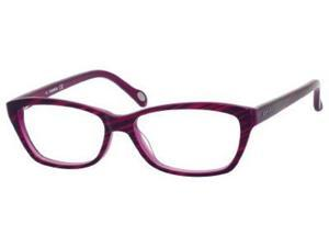 Fossil Sadie Eyeglasses-In Color-Dark Horn Violet (0JAM)-Size-51/14/135