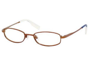 Tommy Hilfiger 1077 Eyeglasses-In Color-Brown-Size-46/16/125