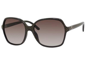 GUCCI Sunglasses  3632/S 0DXJ Brown Glitter Gold 57MM