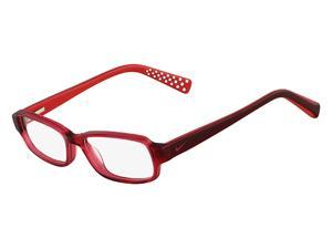 NIKE Eyeglasses 5508 610 Red Dark Red 48MM