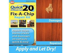 As Seen on TV Quick 20™ Minute Cure No Heat Fix-A-Chip Repair Kit