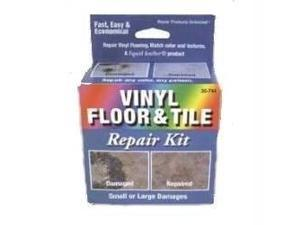 Liquid Leather Vinyl Floor and Tile Repair Kit - Dark Blue Box