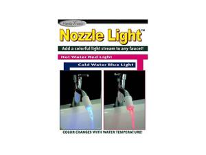 Handy Trends Nozzle Light Faucet Light - White