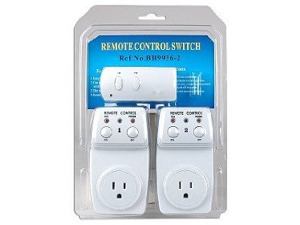 Wireless Remote Control Switch - 2 Pack