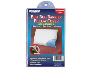 Ideaworks Bed Bug Barrier Pillow Covers- Set of 2