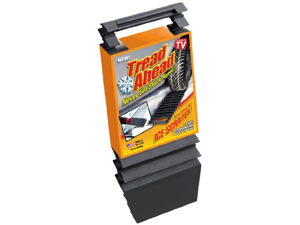 "Tread Ahead- Auto Traction Mat/ Ice Scraper (Small 13 1/2"")"