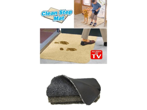 Clean Step Mat- Gray (2 Pack)