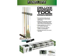 Finelife Deluxe Garden Tool/Mop/Broom Holder- 5 Position
