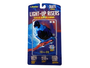 Tireflys Light-Up Skateboard Risers - Red