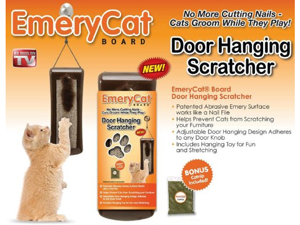 Emerycat Board Door Hanging Scratcher