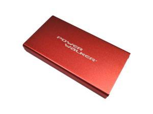 Power Walker A5500 Portable Rechargeable Battery 5500mAh, 5V/1.5A High Output, LED Torch Function (Red)